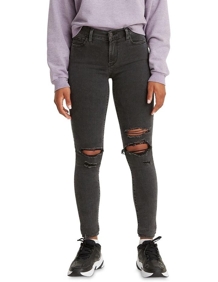 710 Black Pond Super Skinny Jean image 1