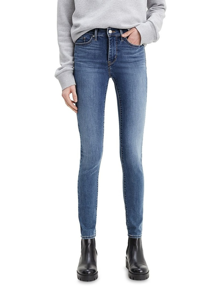 311 Shaping Lapis Gallop Cotton Skinny Jean image 1