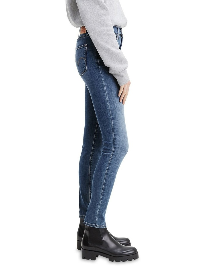 311 Shaping Lapis Gallop Cotton Skinny Jean image 3