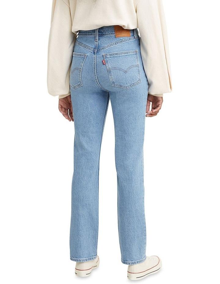 70s High Slim Marin Park Cotton Straight Leg Jean image 2