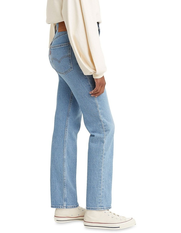 70s High Slim Marin Park Cotton Straight Leg Jean image 3
