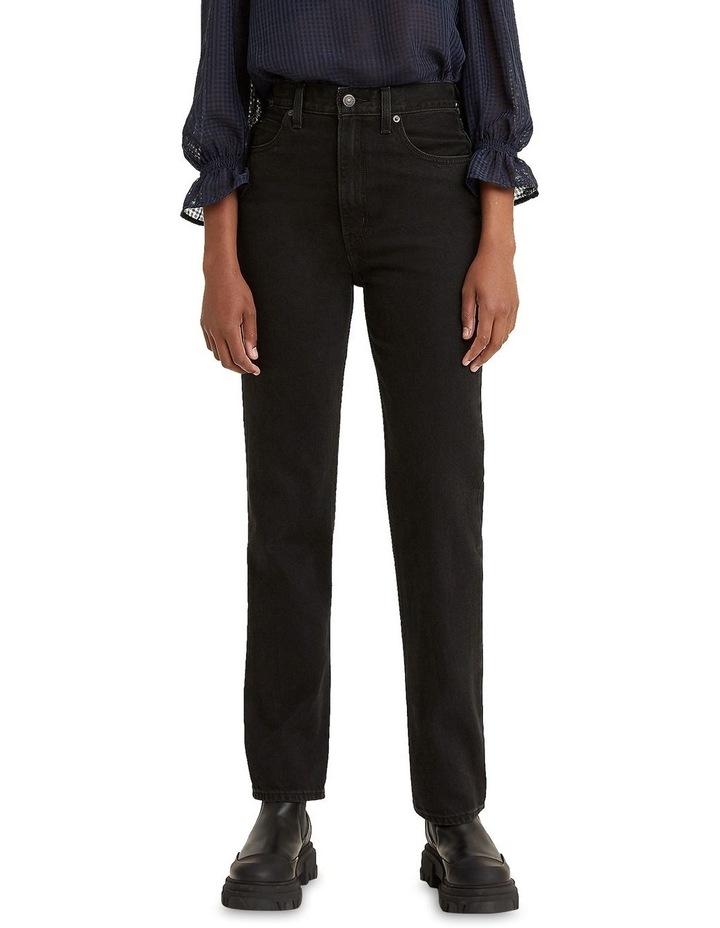 70s High Slim Trainwreck Cotton Straight Leg Jean image 1