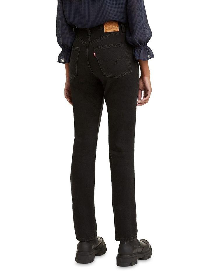 70s High Slim Trainwreck Cotton Straight Leg Jean image 2