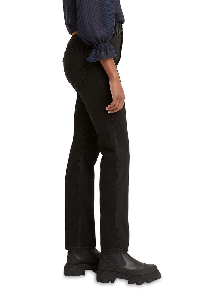 70s High Slim Trainwreck Cotton Straight Leg Jean image 3