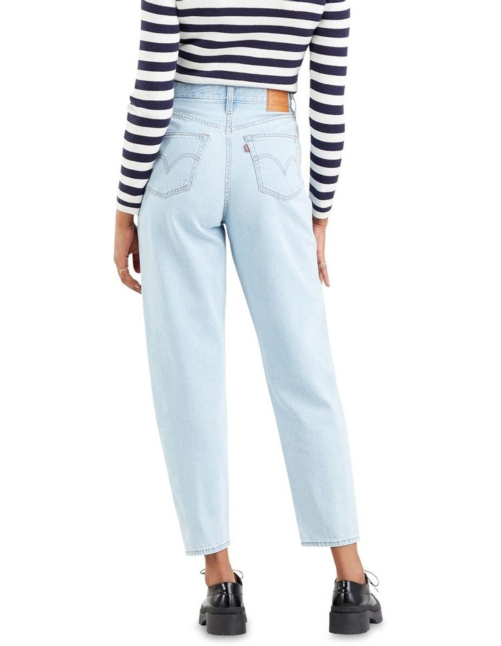 High Loose Taper Fit Love Is Love Mom Jean image 2