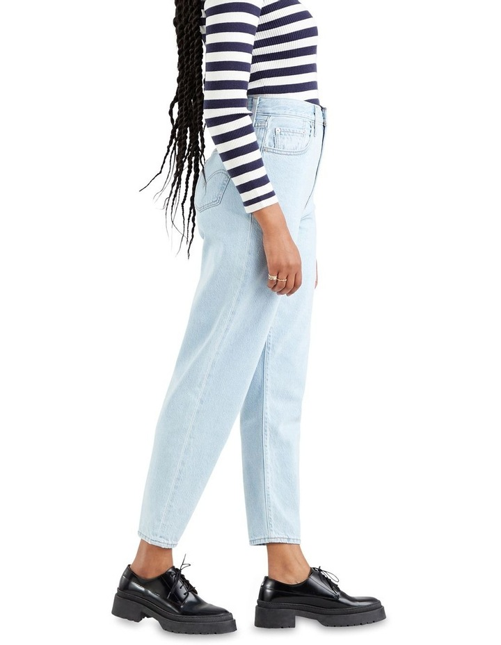 High Loose Taper Fit Love Is Love Mom Jean image 3