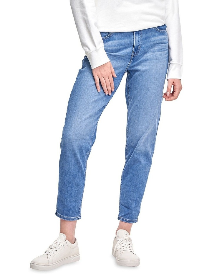 Tribeca Moves High Waisted Boyfriend Jean image 1
