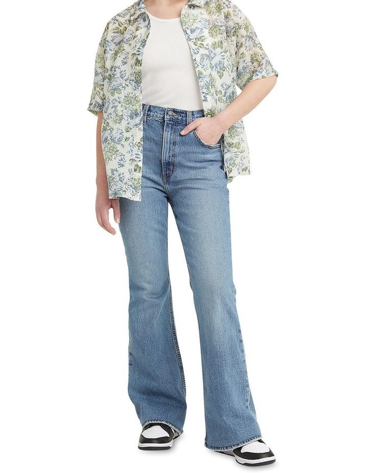 70s High Flare Sonoma Walks High Waisted Jean Jean image 1