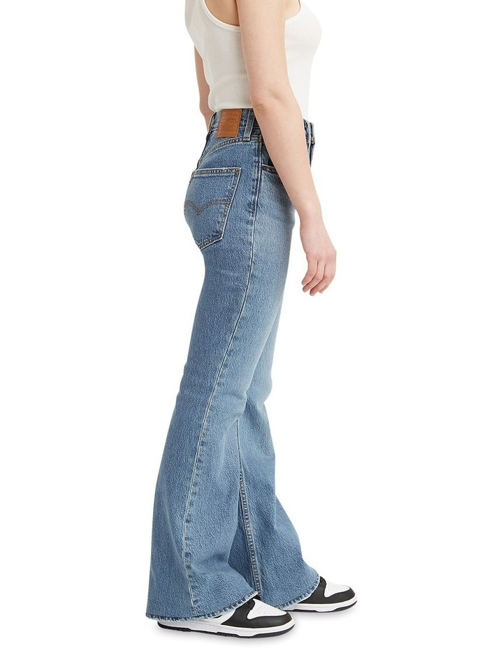 70s High Flare Sonoma Walks High Waisted Jean Jean image 3