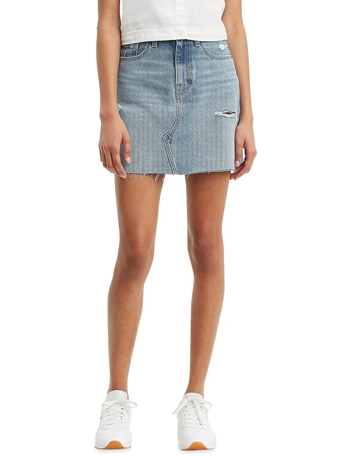 High-Waisted Deconstructed Iconic Skirt image 1