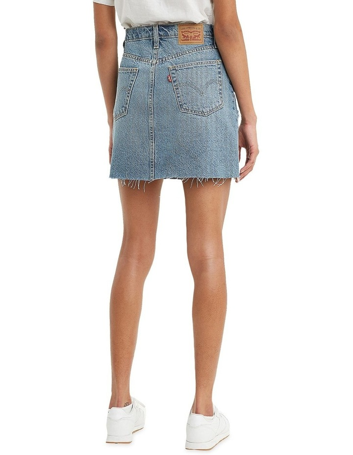 High-Waisted Deconstructed Iconic Skirt image 2