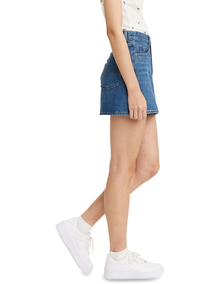 70s High Micro Mini Denim Skirt image 3
