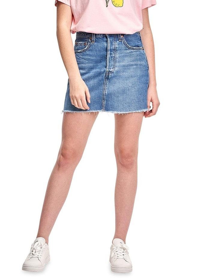 Ribcage Denim Skirt image 1