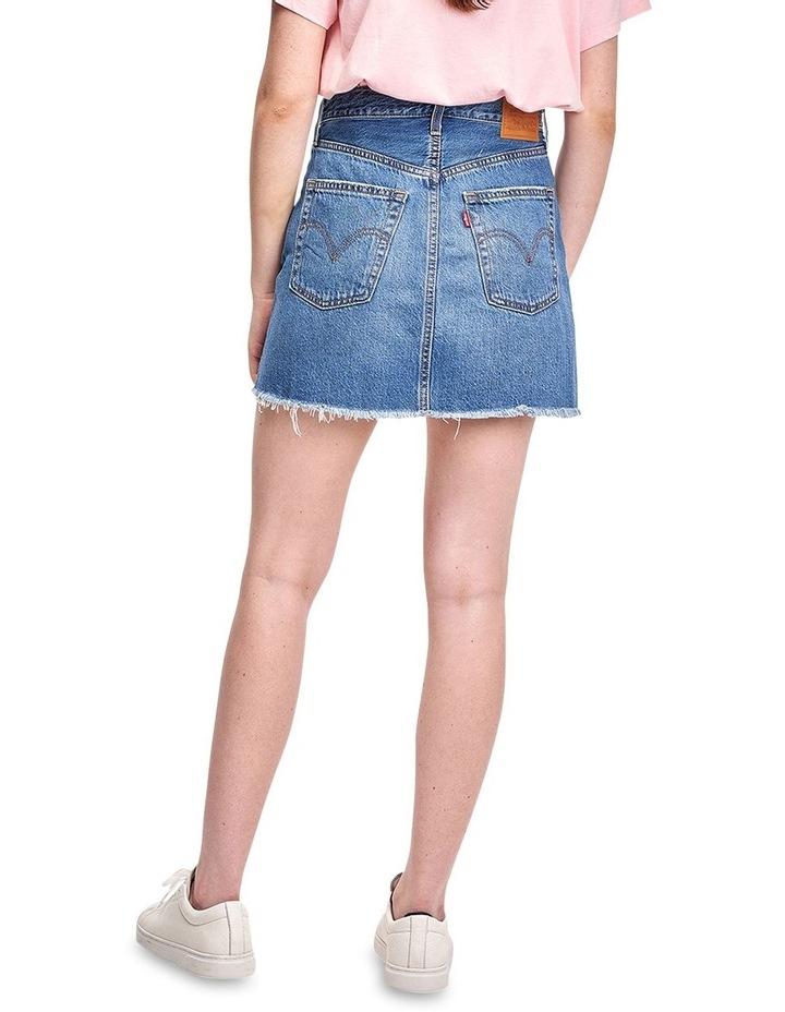 Ribcage Denim Skirt image 2