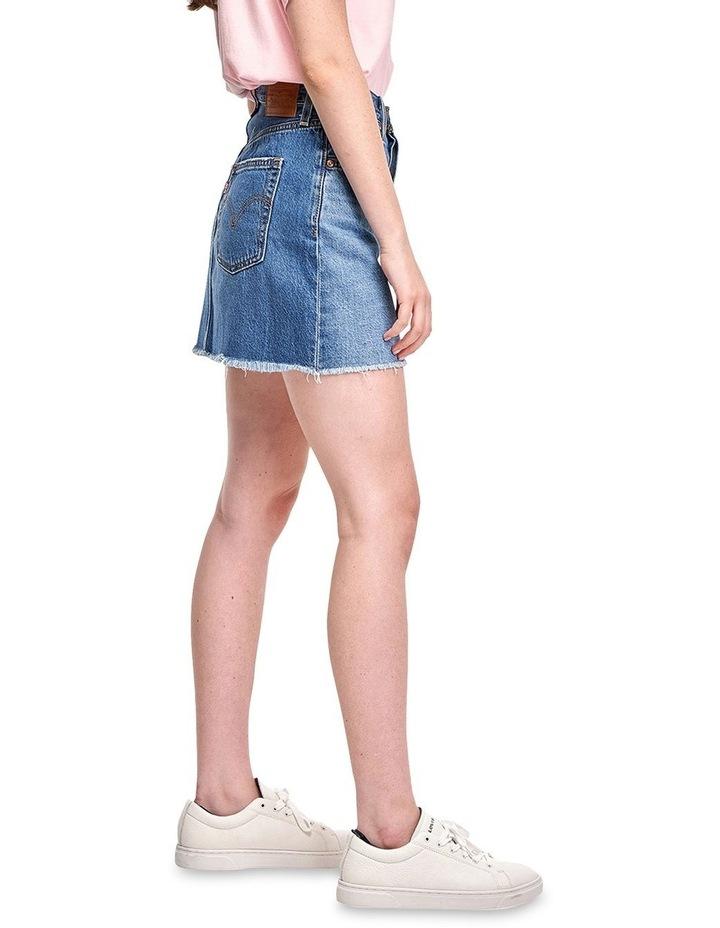 Ribcage Denim Skirt image 3
