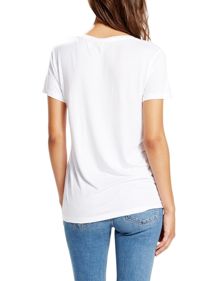Perfect V Neck Tee image 2
