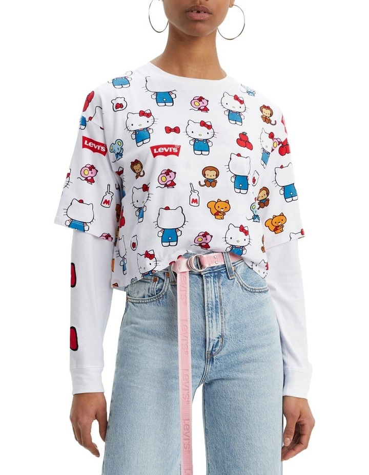 Levi'S® X Hello Kitty Graphic Oversized Tee image 1