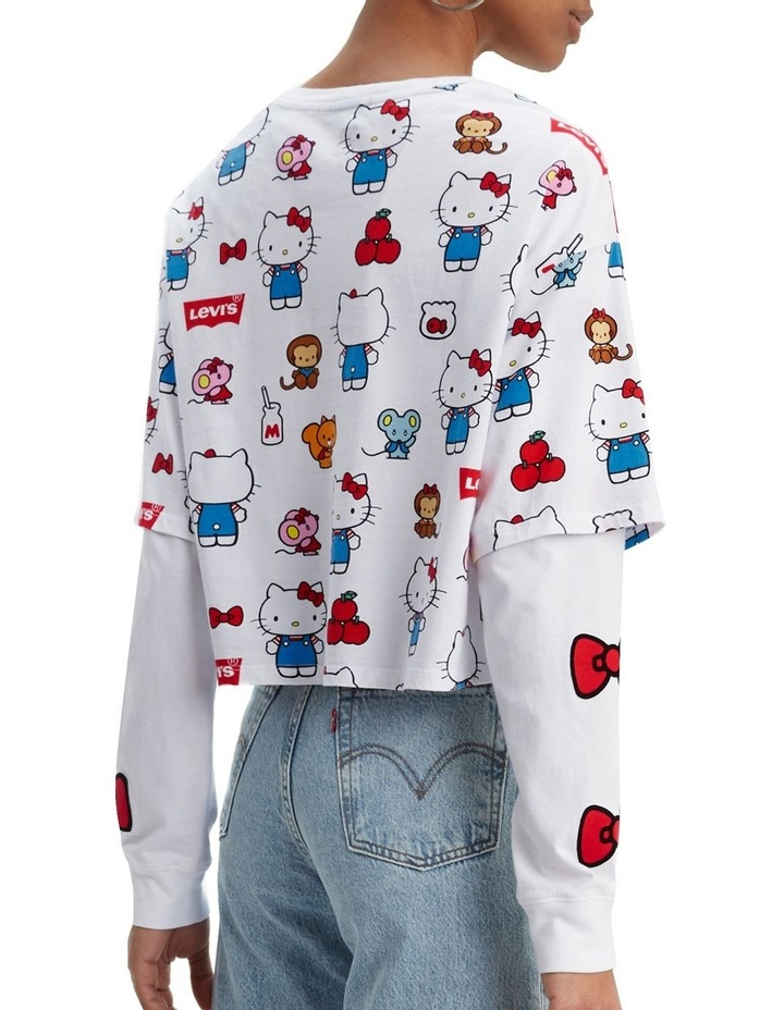 Levi'S® X Hello Kitty Graphic Oversized Tee image 2