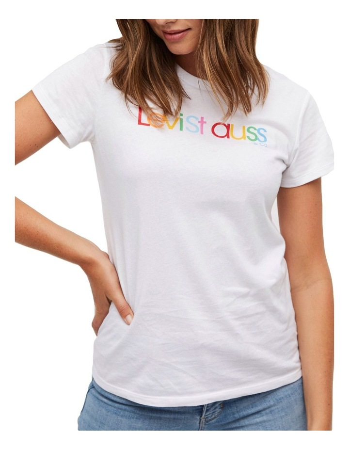 The Perfect Tee White Rounded Logo image 1