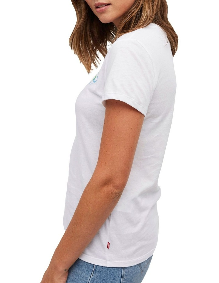 The Perfect Tee White Rounded Logo image 2