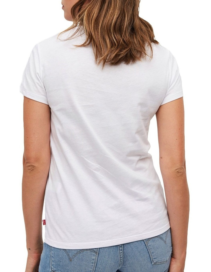 The Perfect Tee White Rounded Logo image 3