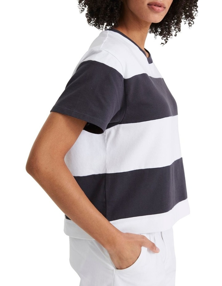 Rugby Stripe Parker 90'S Serif Tee image 2