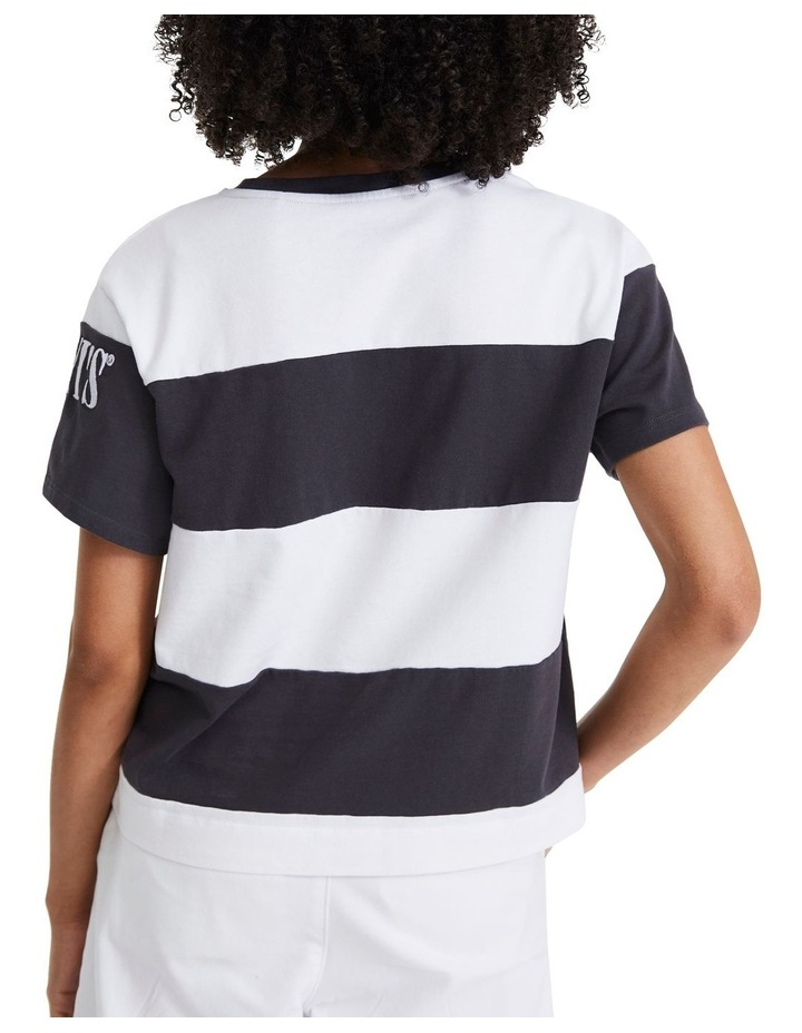 Rugby Stripe Parker 90'S Serif Tee image 3