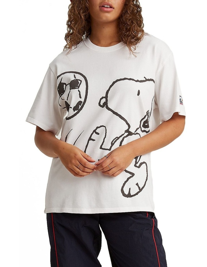 Levis®  x Peanuts®  Relaxed Oversized Graphic T-Shirt image 1