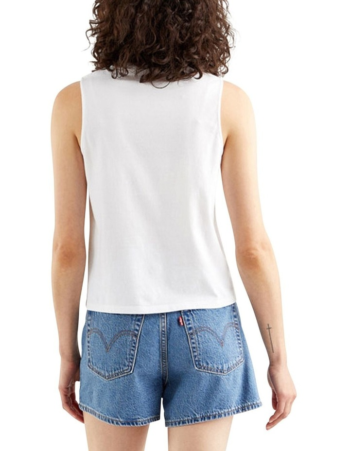 Graphic Band Tank Top White image 2