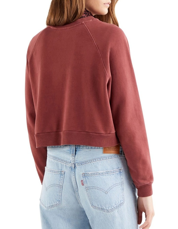 Garment-Dye Vintage Raglan Sweatshirt image 2