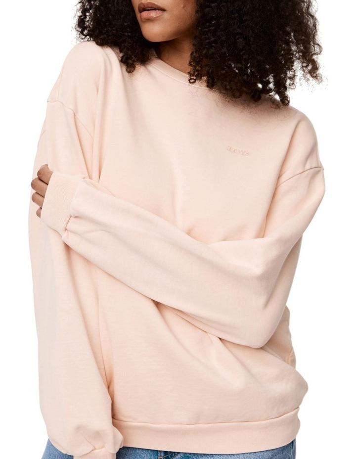 Melrose Garment-Dye Slouchy Crewneck Sweatshirt image 1