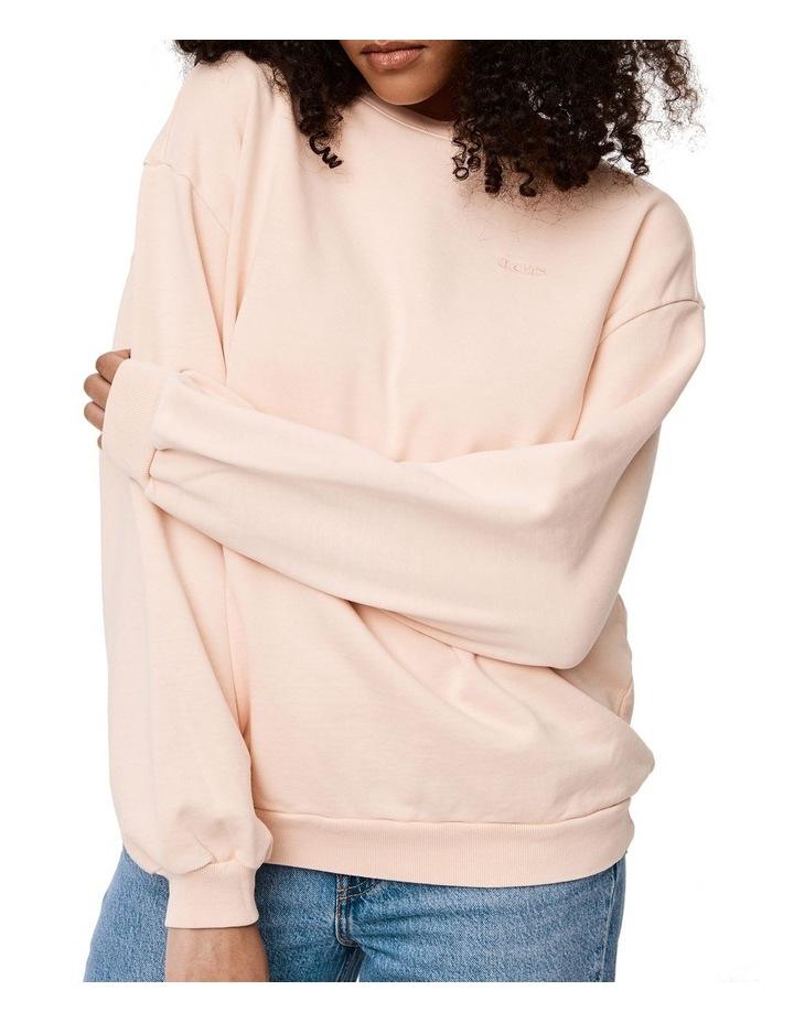 Melrose Garment-Dye Slouchy Crewneck Sweatshirt image 2