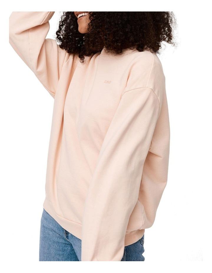 Melrose Garment-Dye Slouchy Crewneck Sweatshirt image 3