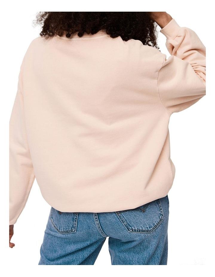 Melrose Garment-Dye Slouchy Crewneck Sweatshirt image 4
