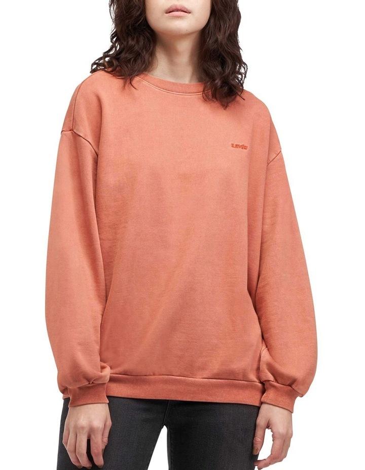 Melrose Garment-Dye Slouchy Sweatshirt image 1