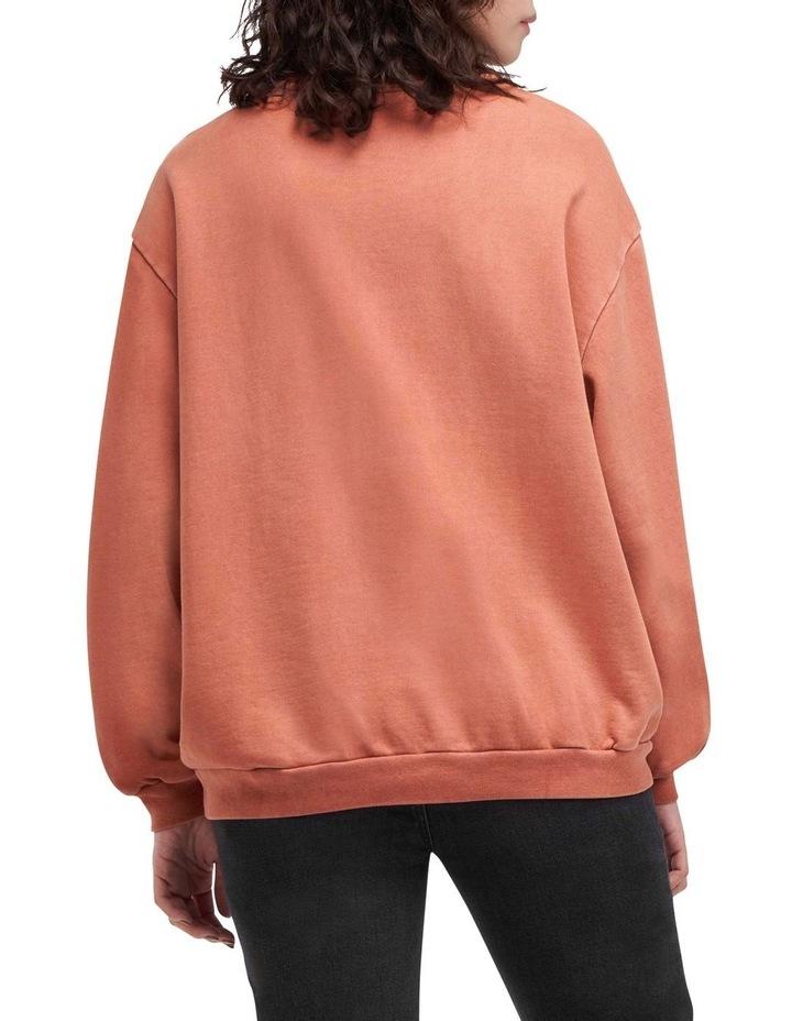 Melrose Garment-Dye Slouchy Sweatshirt image 2