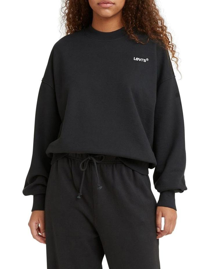Work From Home Black Sweatshirt image 1
