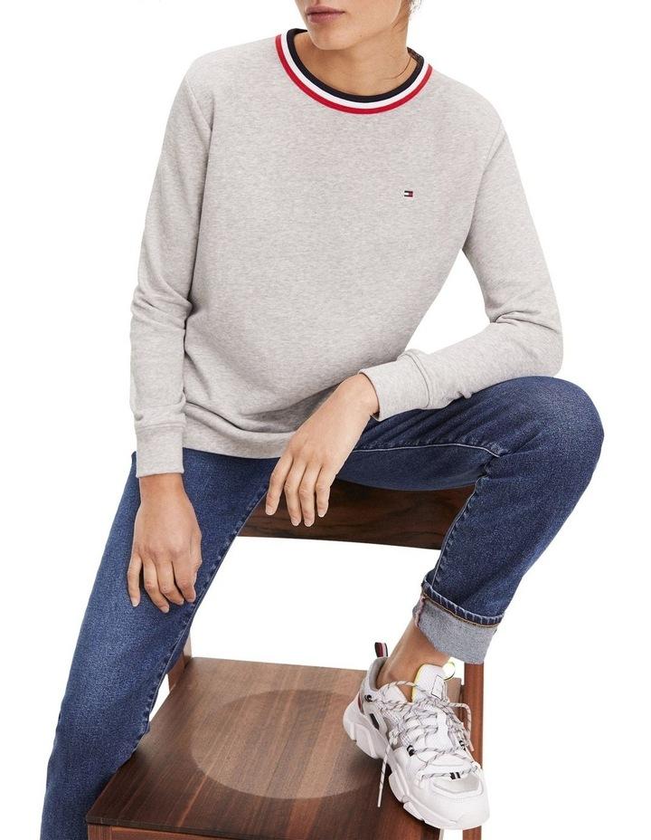 Essential Signature Crew Neck Sweatshirt image 2