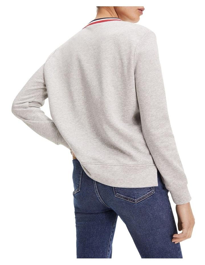 Essential Signature Crew Neck Sweatshirt image 3