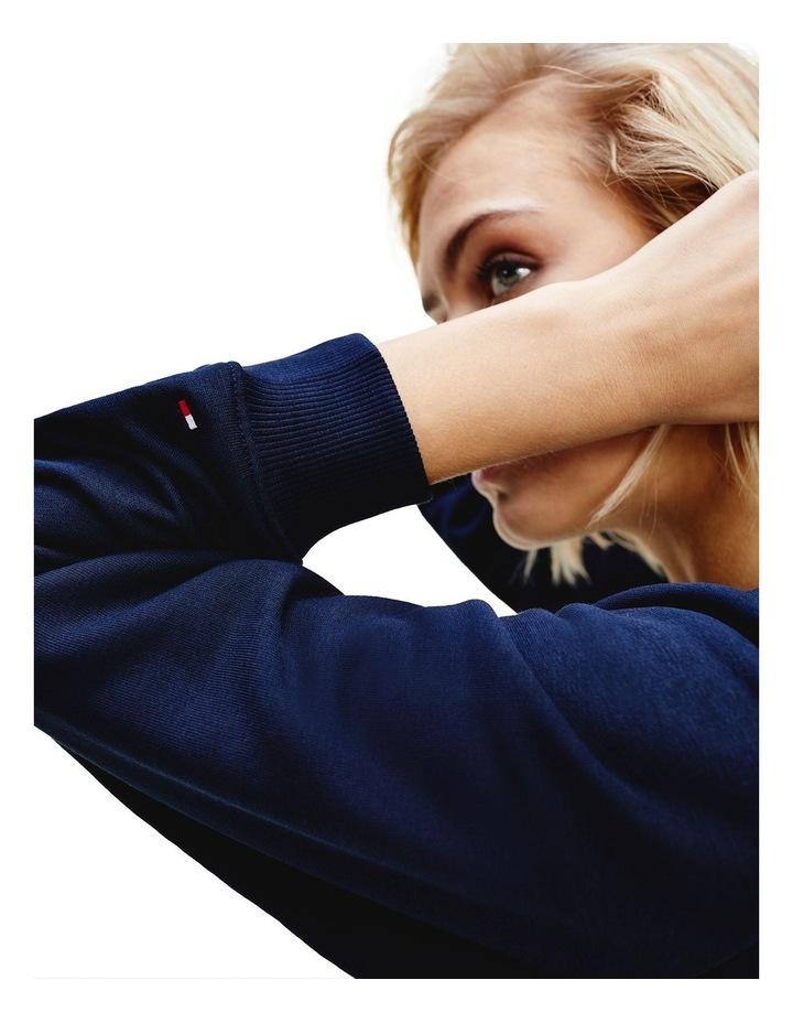 Signature Logo Relaxed Fit Sweatshirt image 5