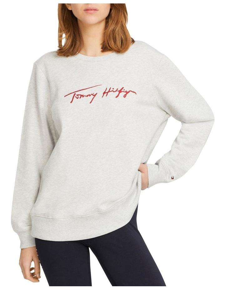 Carmen Relaxed Crew Neck Sweatshirt image 1