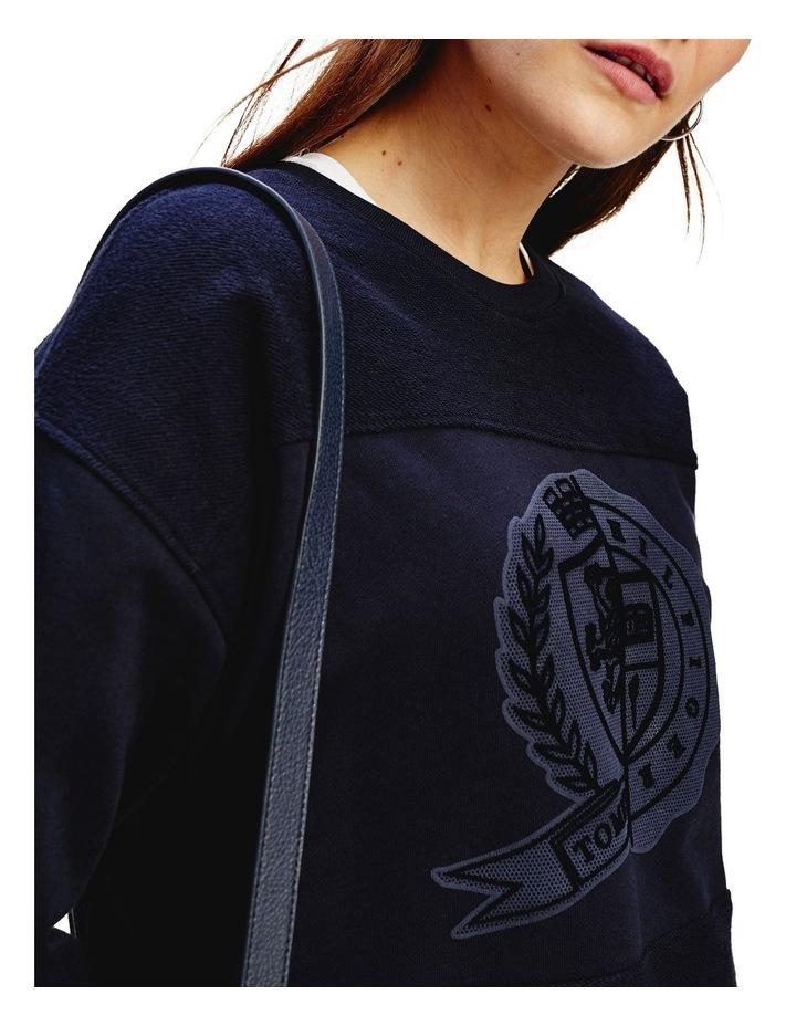 Icon Regular Crew Neck Graphic Sweatshirt image 3