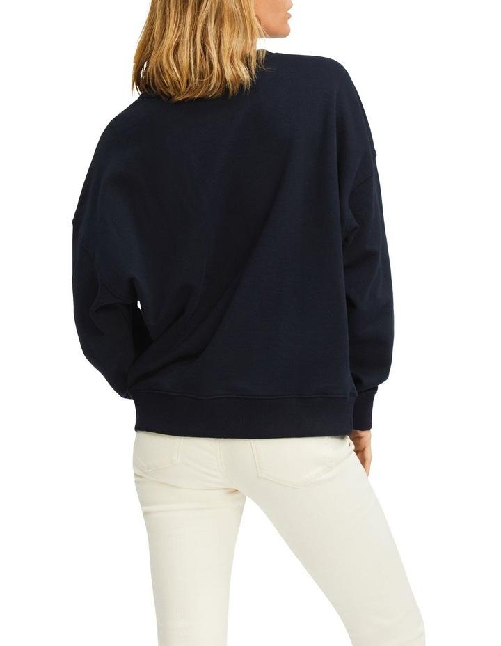 Oversized Floral Sweatshirt image 2