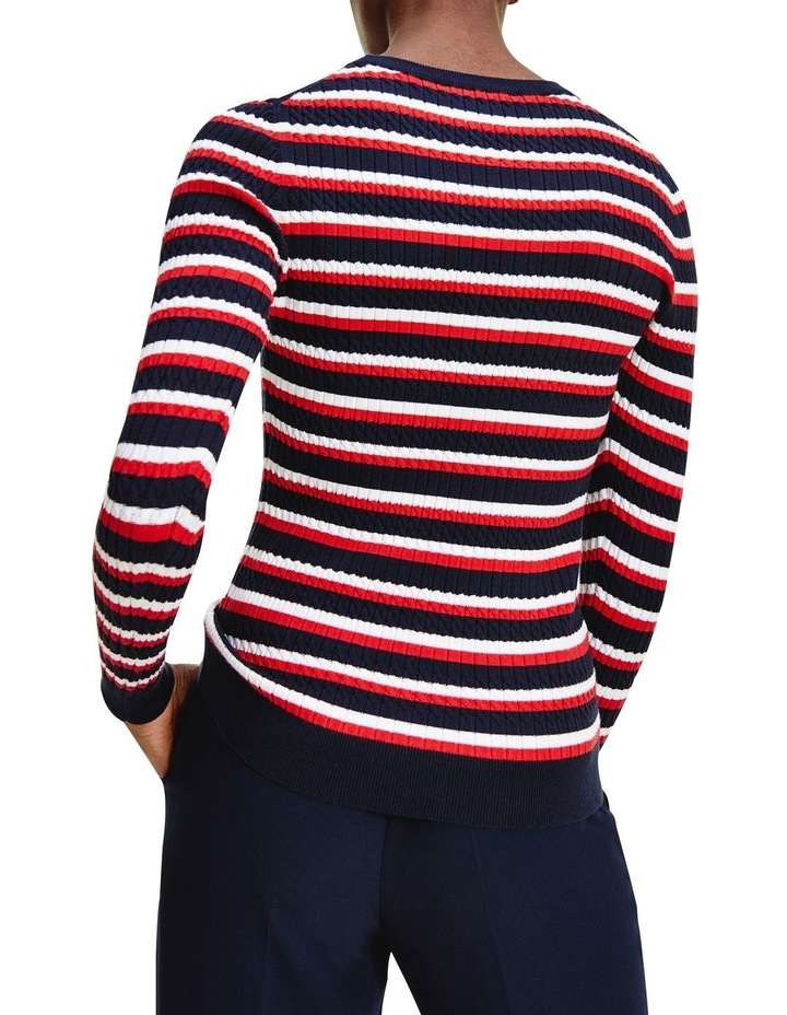 Essential Cable Crew Neck Sweater image 2