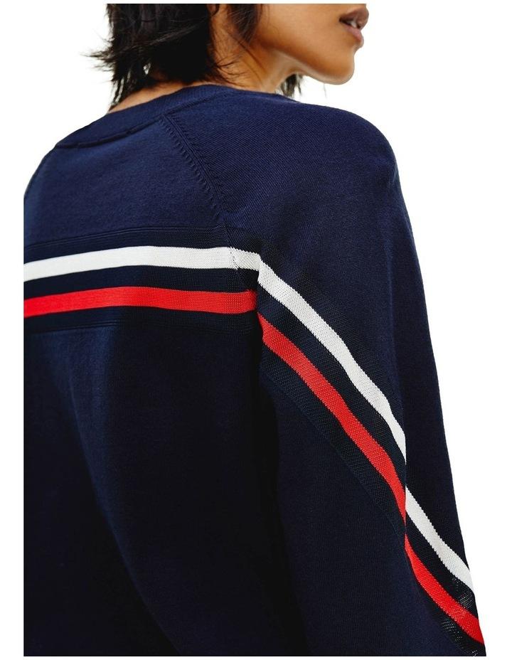 Stripe Crew Neck Sweater image 3