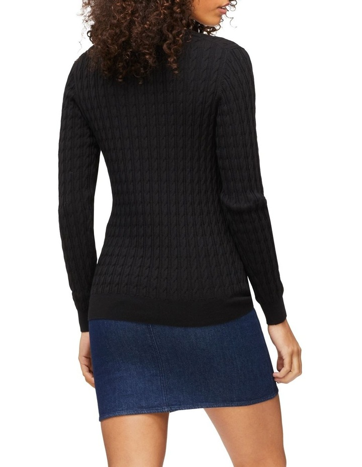 Im Classic Cable V-Neck Sweater image 2