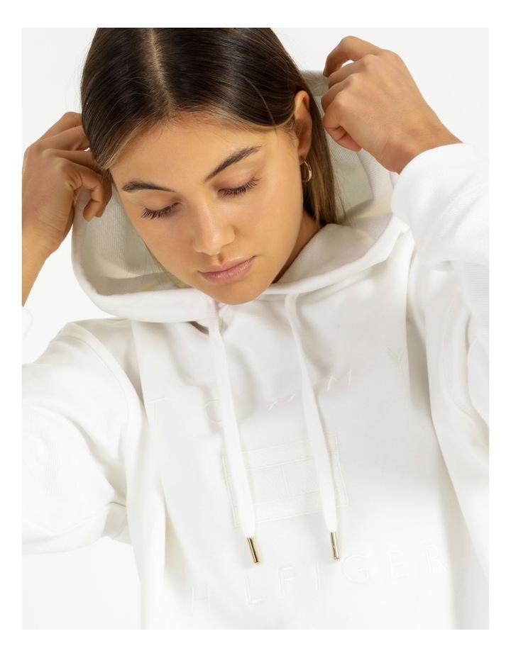 Relaxed Tonal Hoodie Long Sleeve image 5