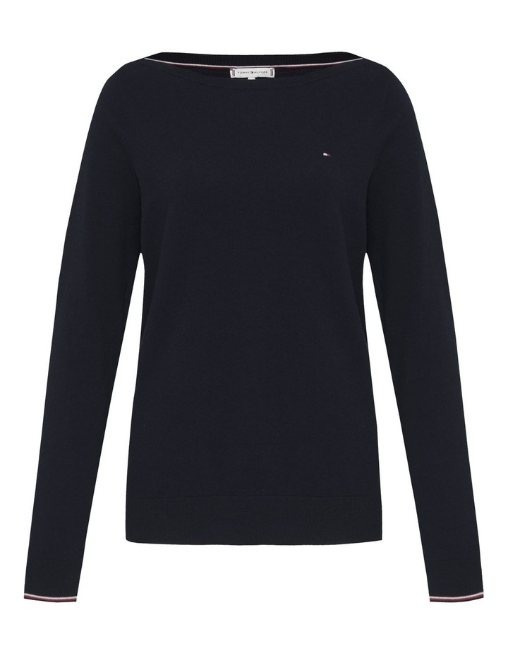 Boat Neck Sweater image 4