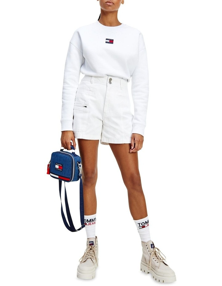 Tommy Center Badge Crew Sweat Top image 1