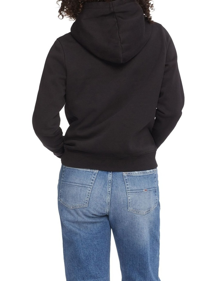 Timeless Tommy 2 Black Cropped Hoodie image 2